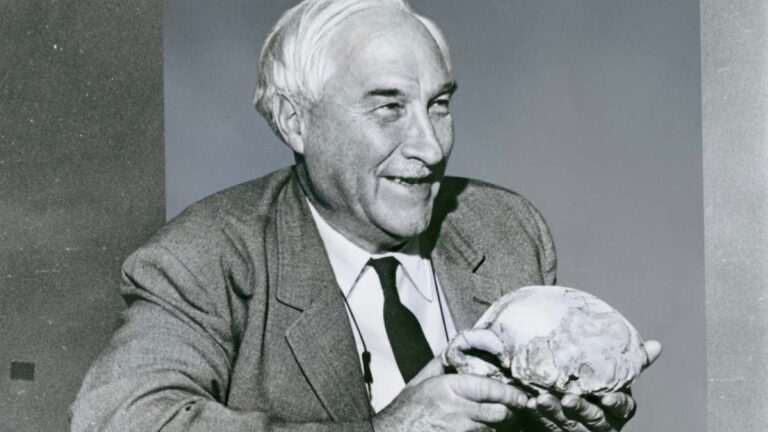 Louis Leakey.