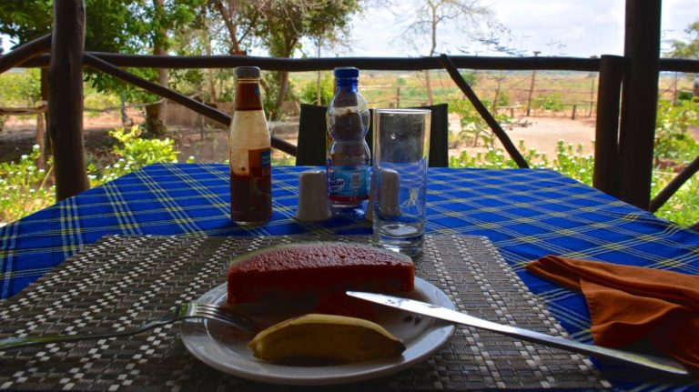 Restaurant i Zarafa Tented Camp.