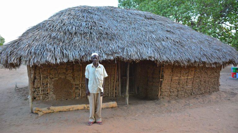 Landsby i nærheden af Zarafa Tented Camp.