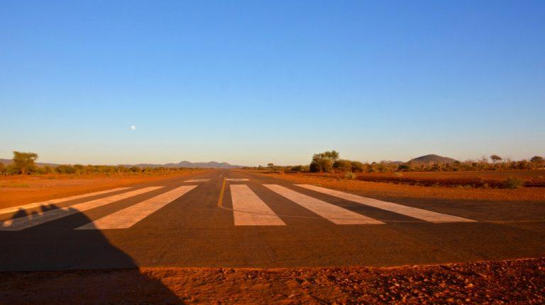 Madikwe National Park, airstrip.