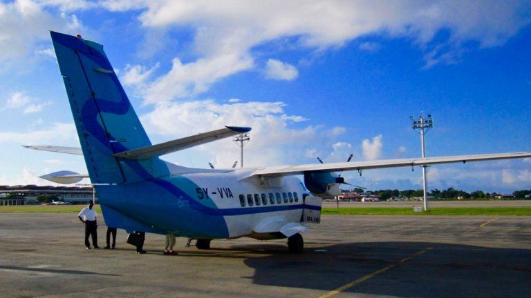 Fly Mombasa til Masai Mara, Kenya.