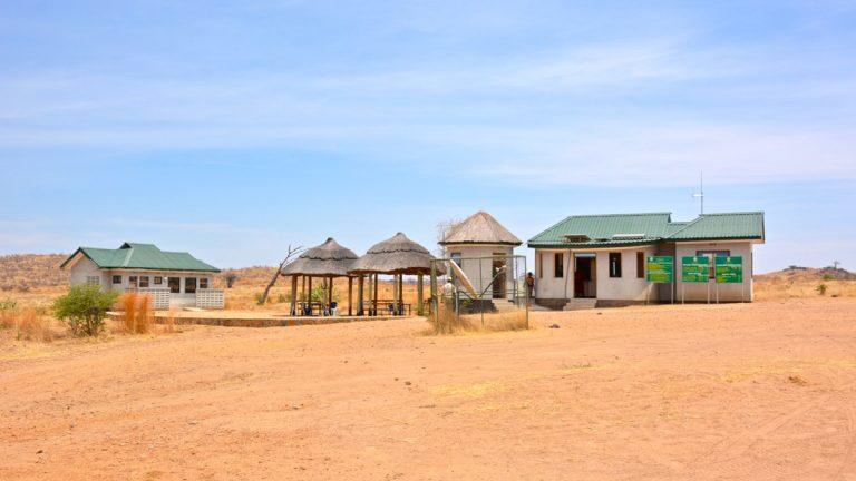 Flyplads i Ruaha, Tanzania.