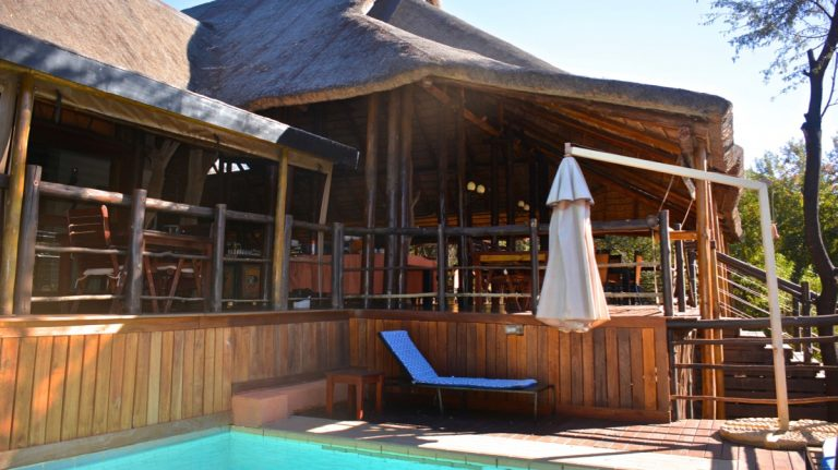 Madikwe River Lodge, Sydafrika.