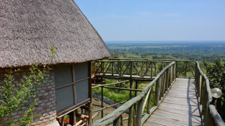 ParkView Safari Lodge, Queen Elizabeth National Park, Uganda.