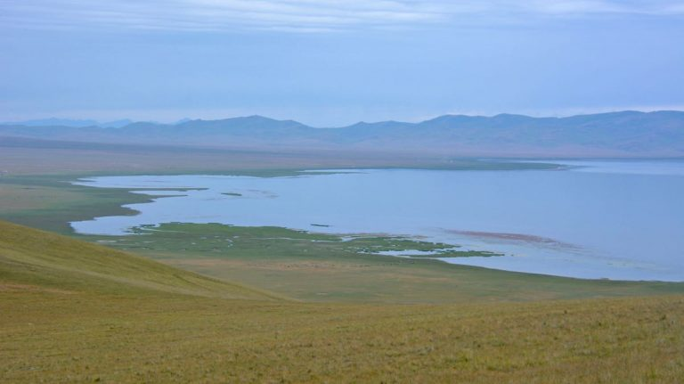 Son Kul søen, Kirgisistan.