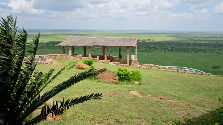 Voi Lodge, Tsavo East, Kenya.