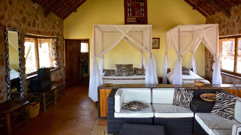 Ruaha River Lodge, Tanzania.