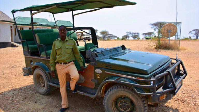 Safaribil i Ruaha, Tanzania.