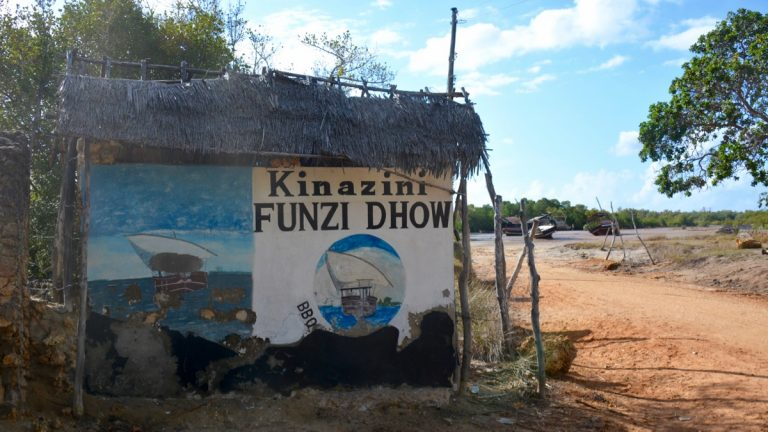 Funzi Island.